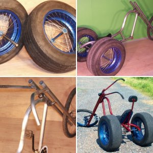 Gladiator DIY Chopper Trike