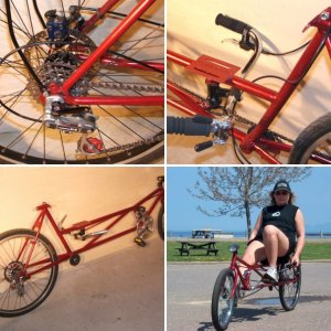 WildKat DIY Recumbent Bike